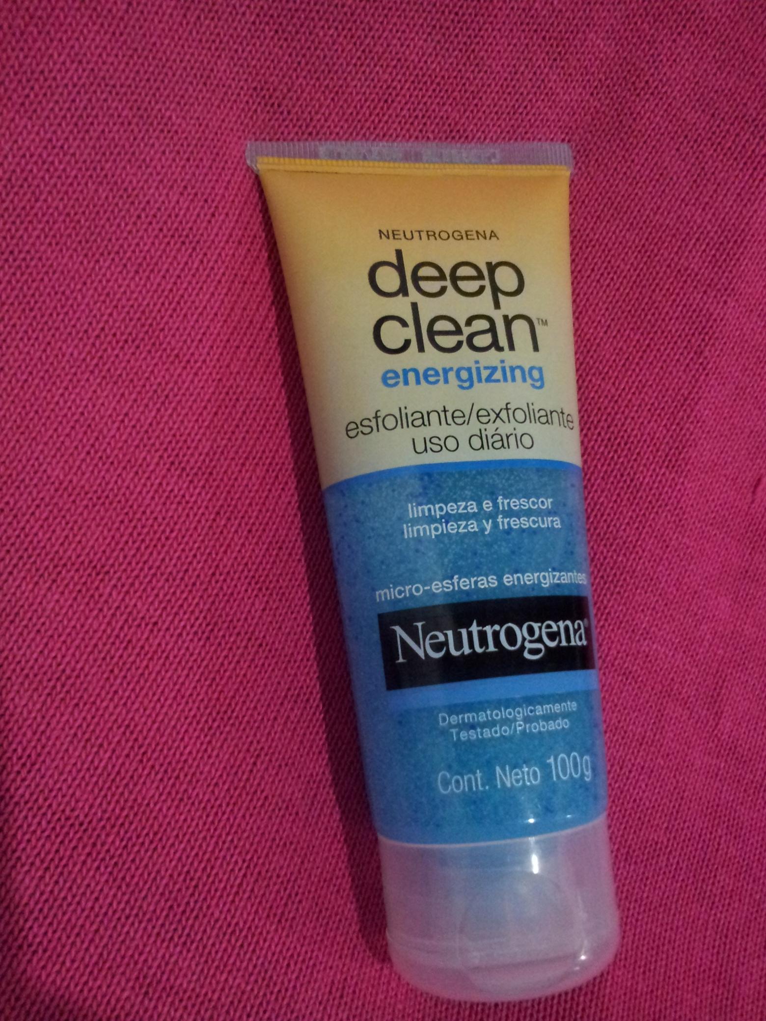 Esfoliante Deep Clean Energizing - Neutrogena