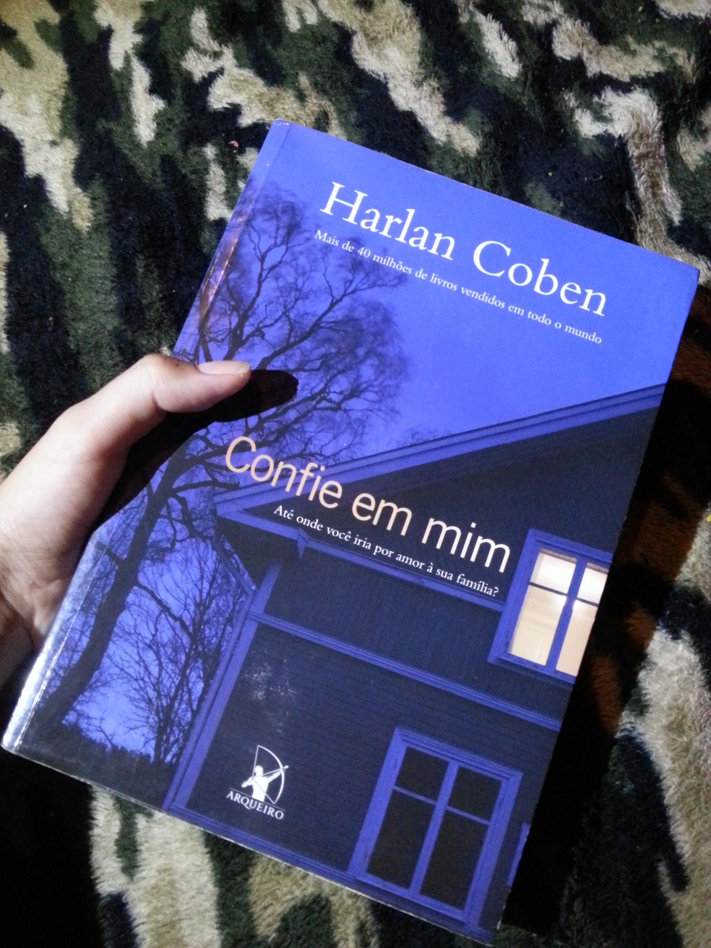 o livro confie em mim de harlan coben